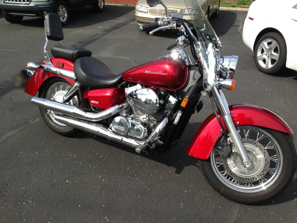 2012 honda shadow areo vt750