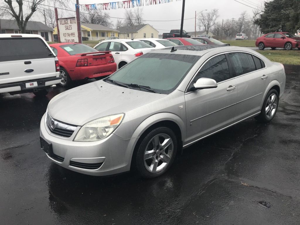 2007 Saturn Aura (Chevy Malibu) only 61,000miles 3.5 v6 heated leather large sun roof new tires runs and drives great!! remote start